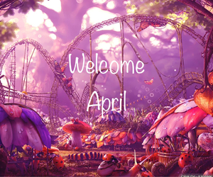 april, background, and fantasy image