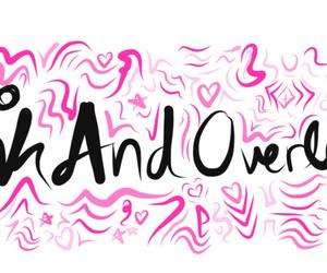 banner, pinkandoverlays, and mine image
