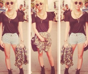 miley cyrus, miley, and style image