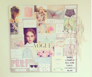 vogue, pink, and girly image