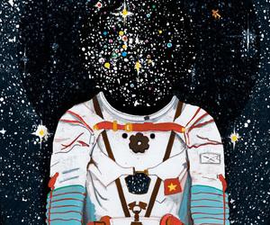 stars and astronauta image