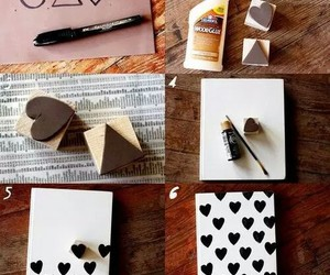 diy, tutorial, and heart image