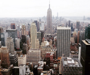 empire state building, new york city, and new yorker image
