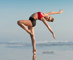 dancer, red, and dance moms image