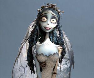 corpse bride, tim burton, and bride image