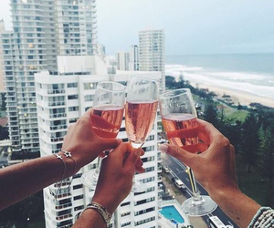 friends, drink, and goals image