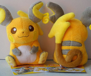 pikachu, pokemon, and raichu image