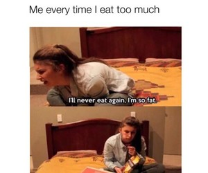 fat, food, and funny image