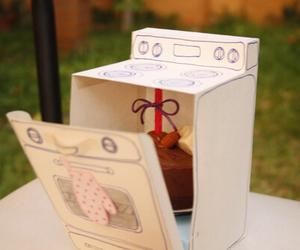 gift, birthday, and cake image