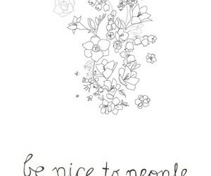 quote, nice, and people image