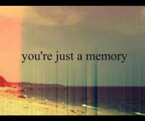 memories, you, and text image