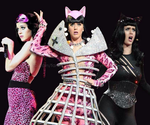 cat, katy perry, and music image