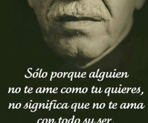 love, gabriel garcia marquez, and frases image