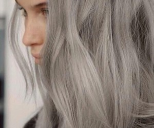 grey hair and hair styles image