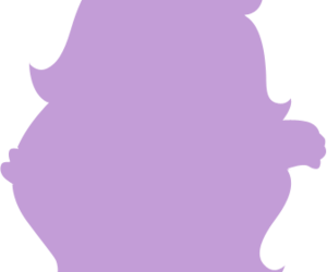 amethyst, purple, and silhouette image