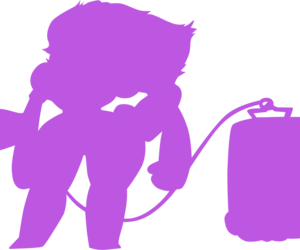 purple, silhouette, and transparent image