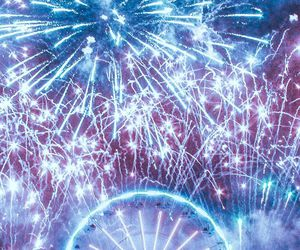 fireworks, music, and party image