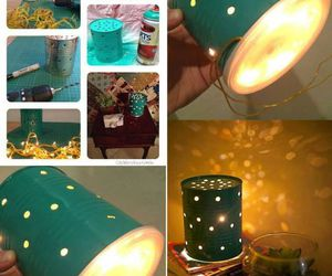 diy, light, and lamp image