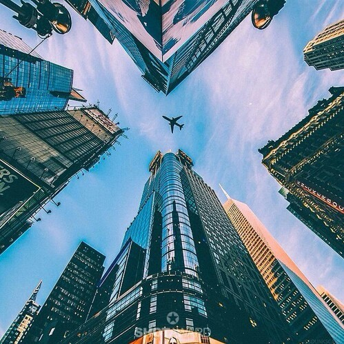 city, urban, and cool image