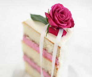 sweet, cake, and wedding image