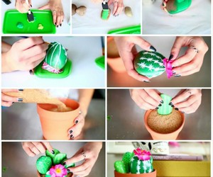 diy cactuses and diy cute ideas image