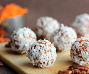 almond, coconut, and carrot cake image