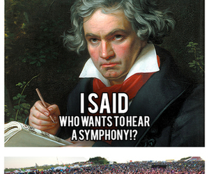 Beethoven, funny, and lol image