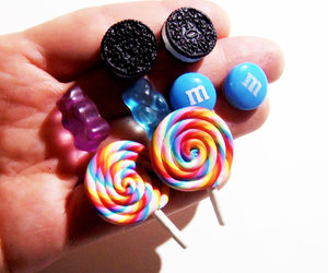 decoden, miniature food, and kawaii jewelry image