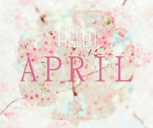 april, beautiful, and cherry blossom image