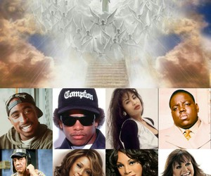 2pac, angels, and beautiful image