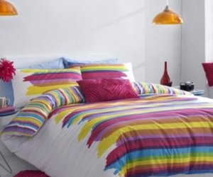 bed, bedroom, and color image