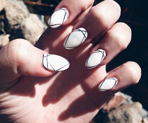 girl and nails image