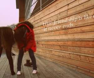 friendship and text image