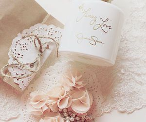 pink, vintage, and perfume image