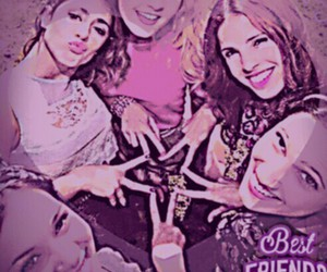 best friends, violetta, and martina stoessel image