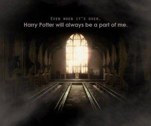 harry potter, always, and hogwarts image