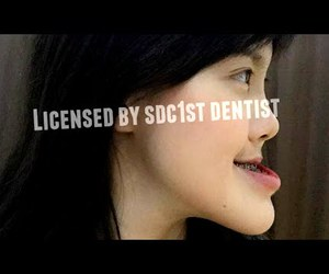 braces, let me in, and จัดฟัน image