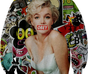 obey and Marilyn Monroe image