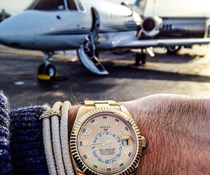 luxury, man, and rolex image