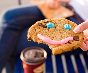 cookie, smile, and food image