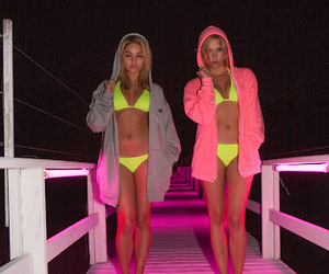 spring breakers, ashley benson, and vanessa hudgens image