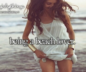 just girly things, beach, and justgirlythings image