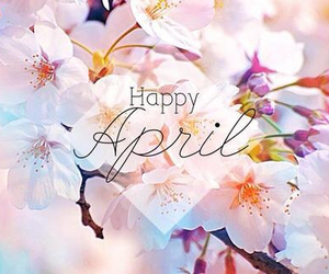 april, happy, and spring image