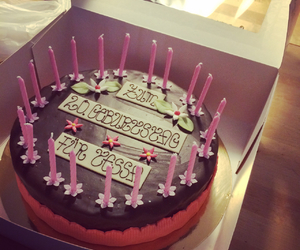 20, cake, and candle image