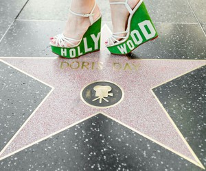 shoes, hollywood, and wedges image