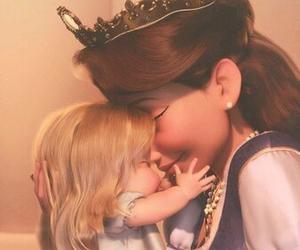 baby, disney, and Queen image