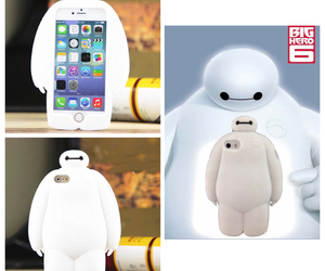 baymax, iphone case, and big hero 6 image