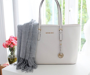 Michael Kors, bag, and fashion image