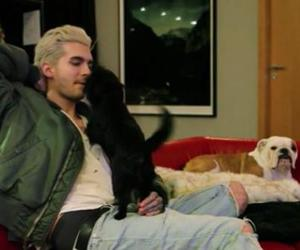 bill kaulitz, dogs, and pumba image