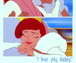 disney, family, and I Love You image